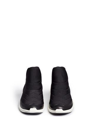 正面 - 点击放大 - ASH - QUID锯齿条纹太空棉球鞋