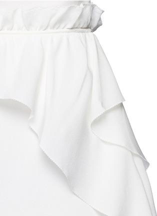 细节 - 点击放大 - 3.1 PHILLIP LIM - 荷叶边装饰真丝吊带连衣裙