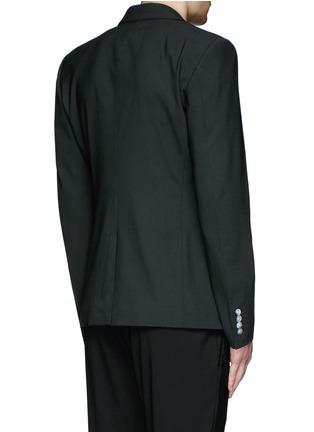 背面 - 点击放大 - DOLCE & GABBANA - 车缝线羊毛西服外套