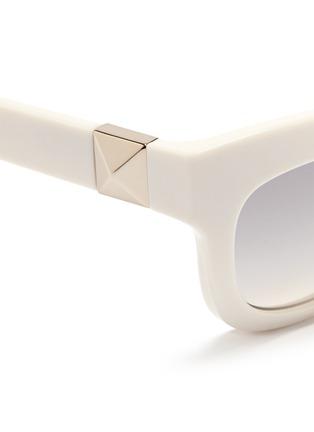 细节 - 点击放大 - Valentino - 铆钉猫眼太阳眼镜