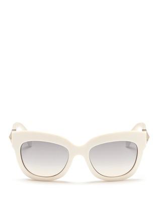 首图 - 点击放大 - Valentino - 铆钉猫眼太阳眼镜