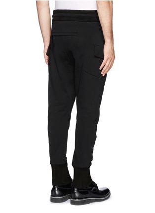背面 - 点击放大 - HELMUT LANG - 侧口袋纯棉休闲长裤