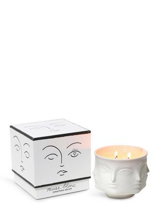 - JONATHAN ADLER - Muse Blanc人脸陶瓷香氛蜡烛