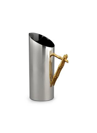 首图 –点击放大 - L'OBJET - 镀24K竹节手柄不锈钢壶