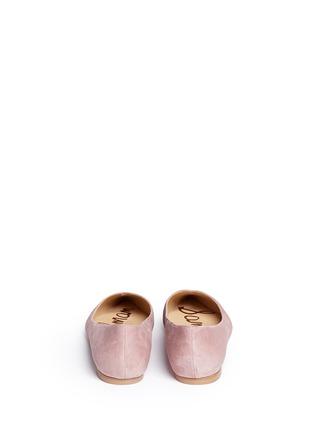 背面 - 点击放大 - SAM EDELMAN - Ruby镂空尖头平底鞋