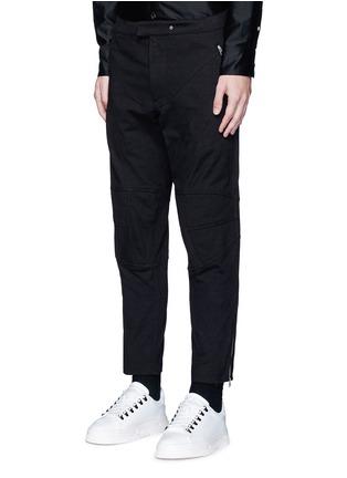 正面 -点击放大 - RAG & BONE - 机车款纯棉长裤