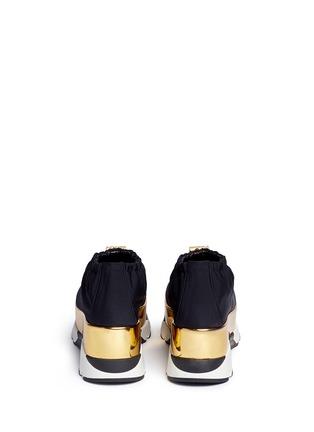 背面 - 点击放大 - Marni - 滑扣设计厚底运动鞋
