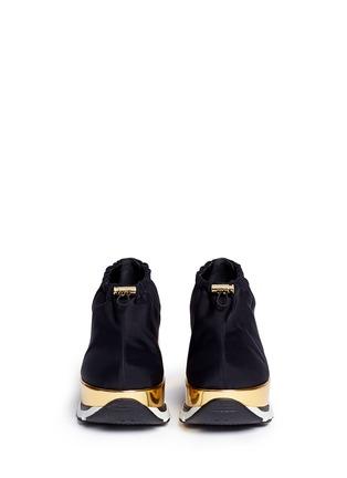 正面 - 点击放大 - Marni - 滑扣设计厚底运动鞋