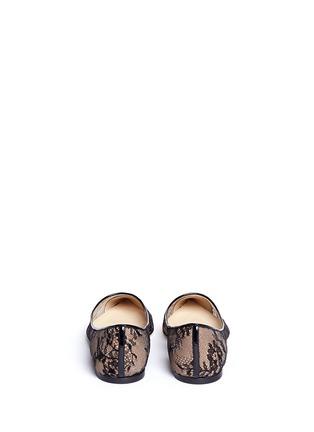 背面 - 点击放大 - JIMMY CHOO - ALINA蕾丝尖头平底鞋