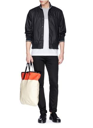 模特儿示范图 - 点击放大 - RAG & BONE - 纯色夹克外套