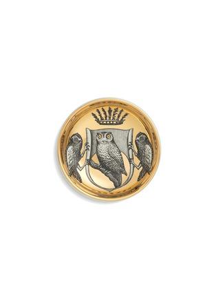 首图 –点击放大 - FORNASETTI - Stemma di Civette猫头鹰圆形烟灰缸