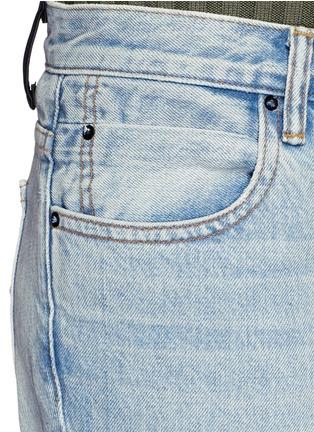 细节 - 点击放大 - T BY ALEXANDER WANG - Trap水洗喇叭牛仔裤