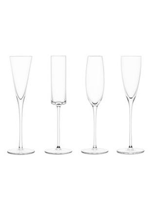 首图 –点击放大 - LSA - LULU玻璃香槟高脚杯套组