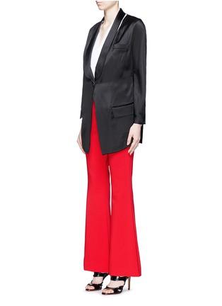 模特儿示范图 - 点击放大 - ANIRAC - 高腰喇叭长裤