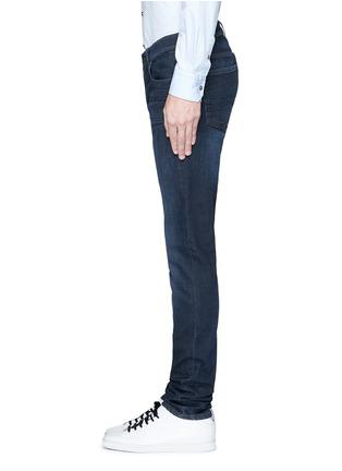 细节 - 点击放大 - ACNE STUDIOS - ACE修身中腰水洗牛仔裤