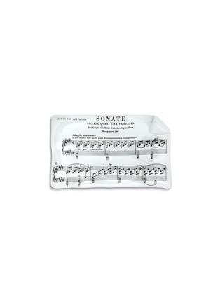 首图 –点击放大 - FORNASETTI - Diagramma Musicale Beethoven曲谱图案瓷器烟灰缸
