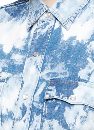 细节 - 点击放大 - SAINT LAURENT - 水洗牛仔衬衫