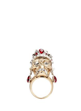 首图 - 点击放大 - Alexander McQueen - 立体皇冠骷髅头戒指