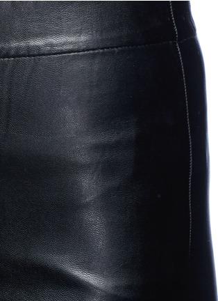 细节 - 点击放大 - ISABEL MARANT ÉTOILE - JEFFERY单色皮革紧身裤