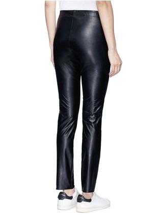 背面 - 点击放大 - ISABEL MARANT ÉTOILE - JEFFERY单色皮革紧身裤