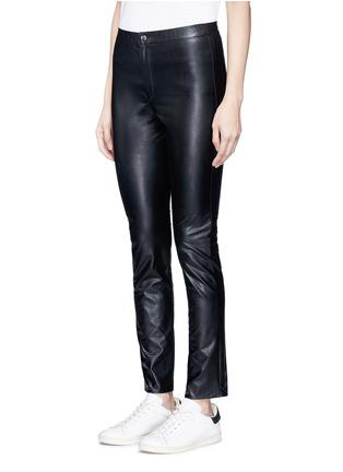 正面 - 点击放大 - ISABEL MARANT ÉTOILE - JEFFERY单色皮革紧身裤