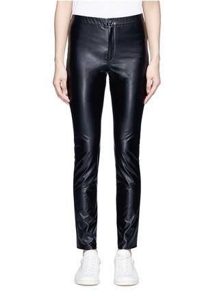 首图 - 点击放大 - ISABEL MARANT ÉTOILE - JEFFERY单色皮革紧身裤