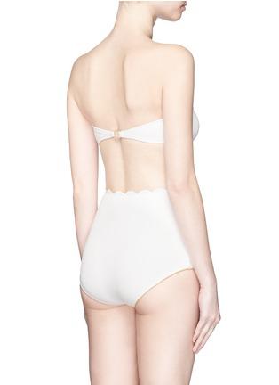 背面 - 点击放大 - MARYSIA  - Antibes扇贝边抹胸式比基尼泳衣