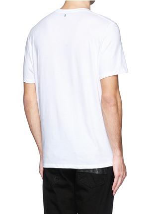 背面 - 点击放大 - NEIL BARRETT - 雕像图案T恤