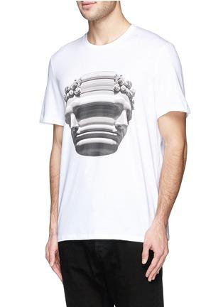 正面 -点击放大 - NEIL BARRETT - 雕像图案T恤