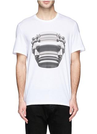 首图 - 点击放大 - NEIL BARRETT - 雕像图案T恤