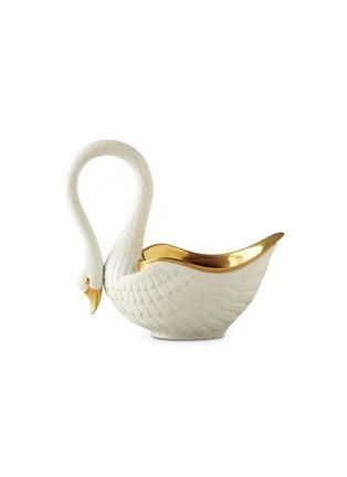 首图 –点击放大 - L'OBJET - 天鹅造型瓷碗