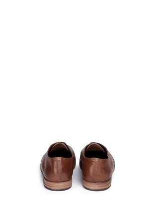 背面 - 点击放大 - MARSÈLL - LISTELLO擦色真皮德比鞋