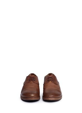 正面 -点击放大 - MARSÈLL - LISTELLO擦色真皮德比鞋