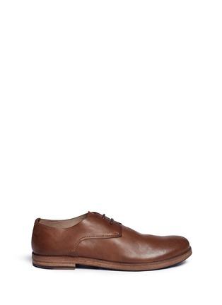 首图 - 点击放大 - MARSÈLL - LISTELLO擦色真皮德比鞋