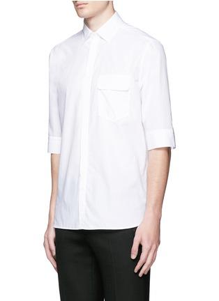 正面 -点击放大 - NEIL BARRETT - 中袖纯棉衬衫