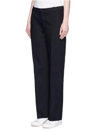 正面 - 点击放大 - ISABEL MARANT ÉTOILE - 纯棉斜纹布长裤