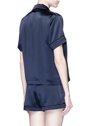 背面 - 点击放大 - ARAKS - Tia单色真丝短裤
