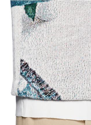 细节 - 点击放大 - FFIXXED STUDIOS - 编织图案纯棉T恤