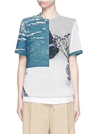 首图 - 点击放大 - FFIXXED STUDIOS - 编织图案纯棉T恤