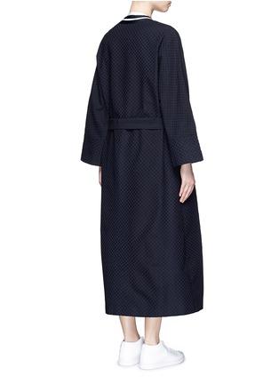 背面 - 点击放大 - FFIXXED STUDIOS - 波点装饰纯棉大衣