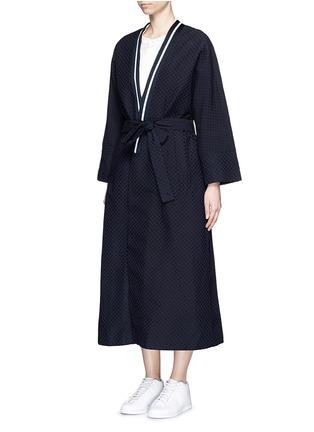 正面 - 点击放大 - FFIXXED STUDIOS - 波点装饰纯棉大衣