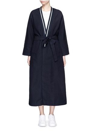 首图 - 点击放大 - FFIXXED STUDIOS - 波点装饰纯棉大衣