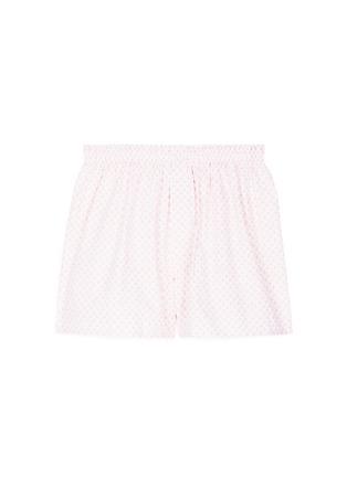 首图 - 点击放大 - SUNSPEL - 花卉图案纯棉平脚内裤