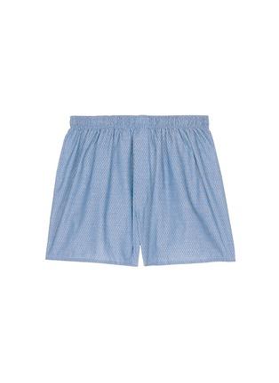 首图 - 点击放大 - SUNSPEL - 蜂巢图案纯棉平脚内裤