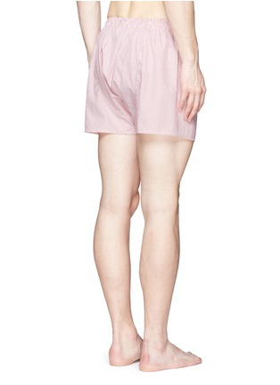 背面 - 点击放大 - SUNSPEL - 细竖纹纯棉平脚内裤