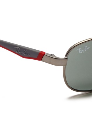 细节 - 点击放大 - RAY-BAN - Curve aviator junior sunglasses