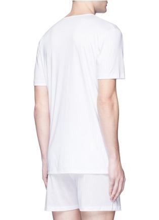 背面 - 点击放大 - ZIMMERLI - 286 Sea Island海岛棉T恤