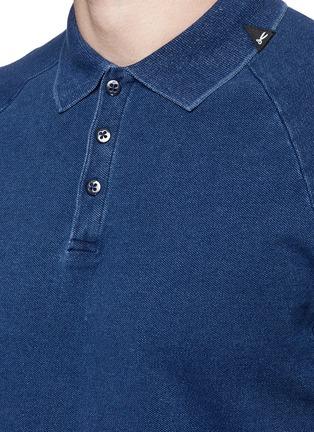 细节 - 点击放大 - DENHAM - JOEY插肩袖纯棉POLO衫