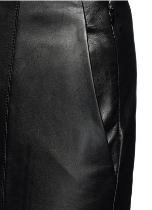 细节 - 点击放大 - VINCE - 羊皮七分阔腿裙裤