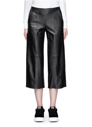 首图 - 点击放大 - VINCE - 羊皮七分阔腿裙裤